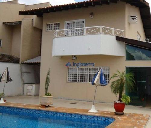 Casa À Venda, 290 M² Por R$ 890.000,00 - Jardim Burle Marx - Londrina/pr - Ca1589