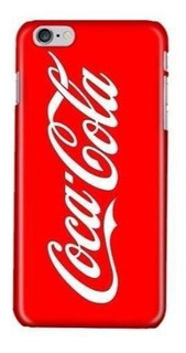 Funda Protector Case iPhone Galaxy Coca Cola Refresco Logo