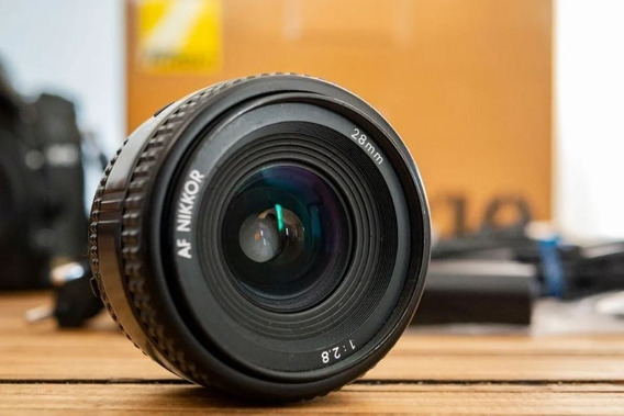 Lente Nikon 28mm F2.8 Japonesa