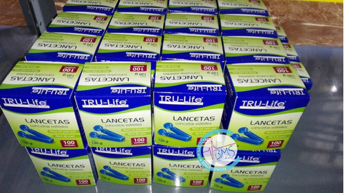 Tiras Reactivas Para Glucometro Tru Life (caja X 150 Uds)