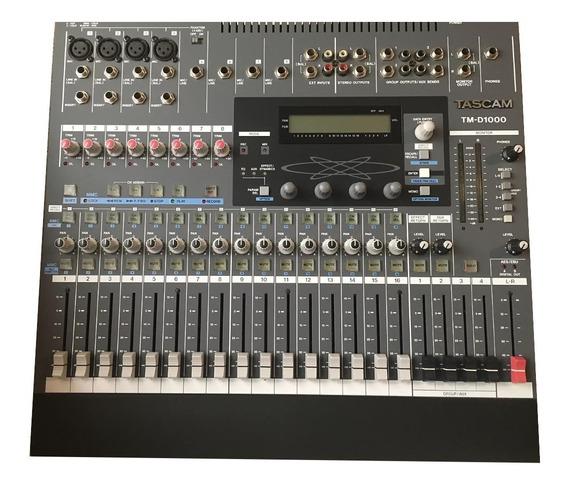 Mesa De Som Digital Tascam Td T1000 - 16 Canais