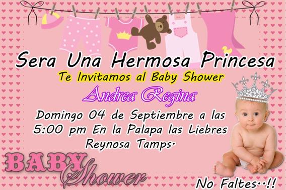 Invitaciones Para Baby Shower Diferentes Modelos
