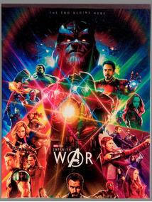 Quadro Vingadores Infinity War Em Tela De Pintura 30x40cm