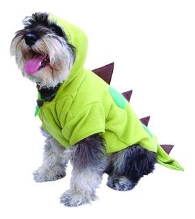 Disfraz Dinosaurio Perro Halloween Talla 4 Mascota Pet Pals