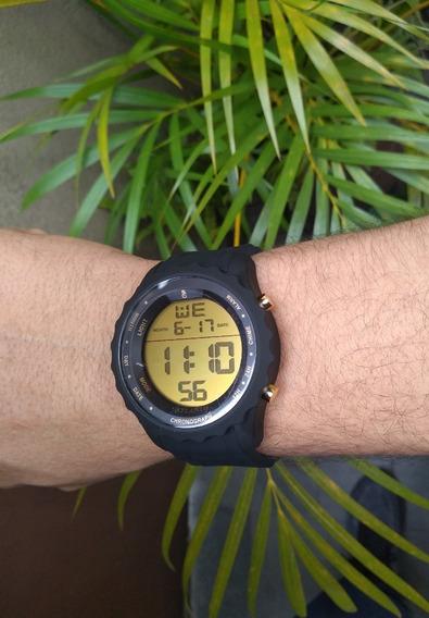 Relógio Atlantis Digital Masculino Esportivo Prova D