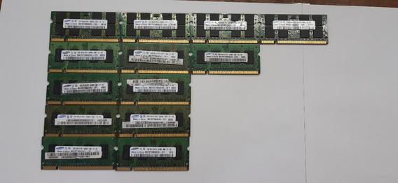 Kit De Memorias Para Notebook 1gb Com 13 Unidades