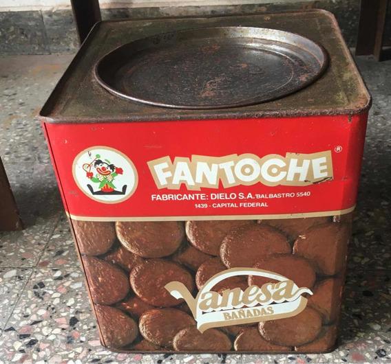 Lata Antigua- Galletitas Fantoche 4 Kg. Vacía- Coleccion