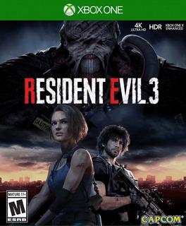 Resident Evil 3 + Resident Evil 2 Xbox One