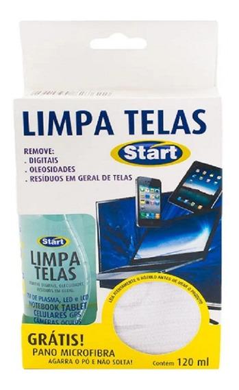Limpa Telas Start 120ml + Grátis Pano Micro Fibra