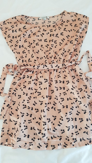Vestido Forever 21 Rosa - Talle S - Importado De Usa