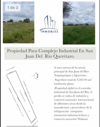 Imagen 1 de 11 de Propiedad Para Complejo Industrial