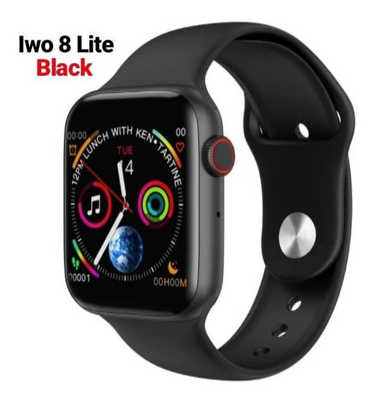 Iwo 8 Lite Relógio Inteligente Smart Watch 44mm Ios Android + Brindes