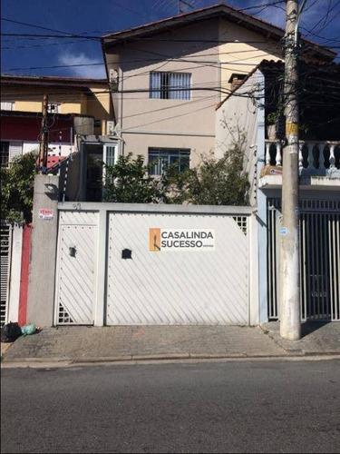 Sobrado 124m²  2 Dortms. 3 Vaga Próx. Á Rua Dos Rodrigues E Rua Amélia Gonçalves-so0944 - So0944