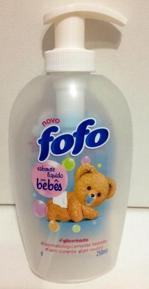 Frasco Vazio Amaciante Fofo Sabonete Liquido P/bebê Perfeito