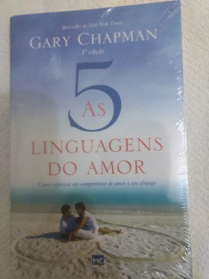 Livro As 5 Linguagens Do Amor/3 Edição/novo/romance/lacrado