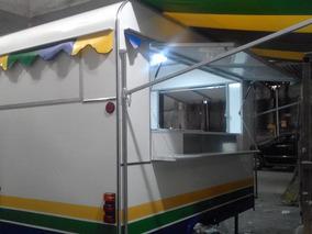 Trailer Lanchonete Food Truck Lanches Espetinho Loja Etc