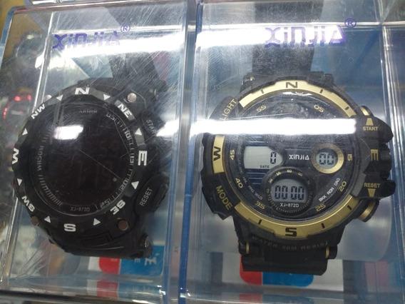 Kit 2 Relógios Xinjia A Prova D´gua.