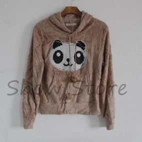 Roupas Femininas Casacos Blusa Frio Pelinho Inverno Panda 49