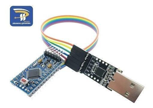 Mini Arduino Atmega328 + Gravador Usb