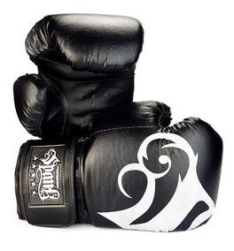 Luva De Boxe E Muay Thai Spank Preto