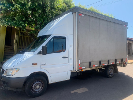 Sprinter Cdi Sider Truck Bem Conservado Motor Novo