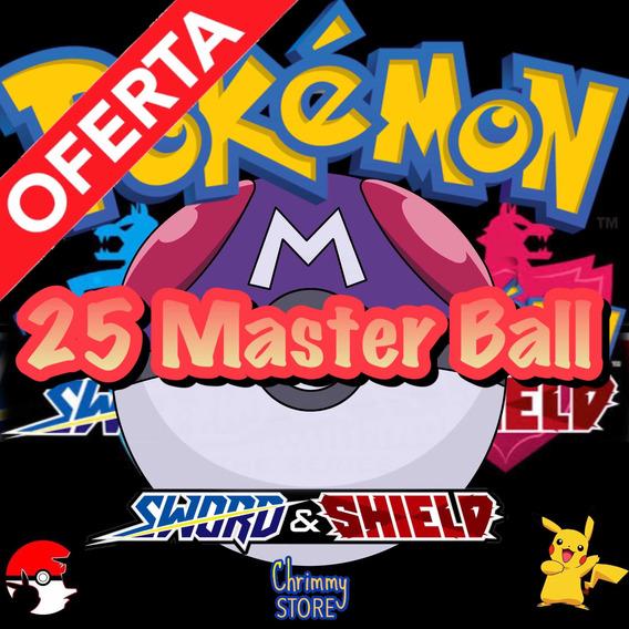 Masterball Johto Balls Pokémon Espada Escudo Sword Shield