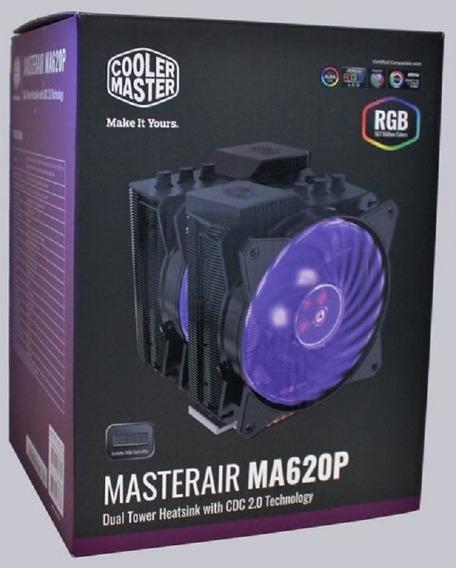 Cooler Master Air Ma620p Led Rgb P/ Cpu Am4 Ryzen Amd