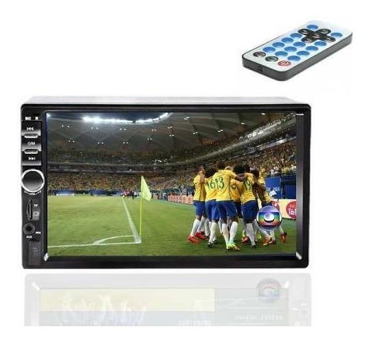 Central Multimidia 2 Din Tv Digital Blue7 C Camera Re E Esp