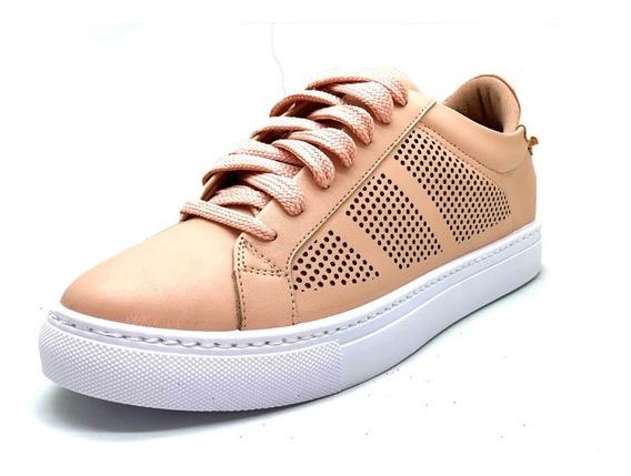 Sapatos Femininos Tenis Casual Rosa Dani K