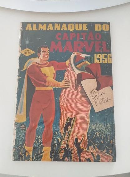 Almanaque Do Capitão Marvel 1956 (frete Gratis)