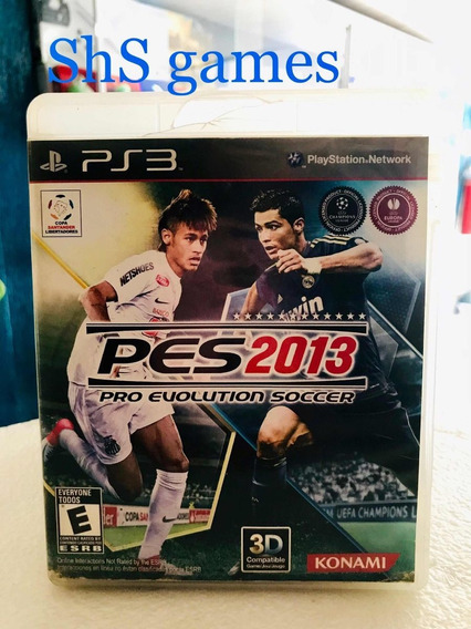 Pes 2013 Ps3 Original Mídia Física