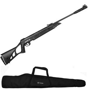 Carabina De Pressão Cbc Nitro X 1000 Oxidada 5.5mm + Capa
