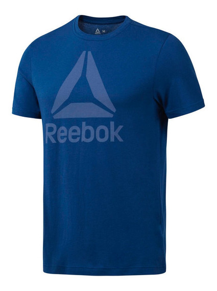 Remera Hombre Reebok Qq R Stacked