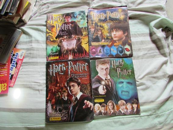 Livro Ilustrado Harry Potter (lote Com 4 Livros) Panini