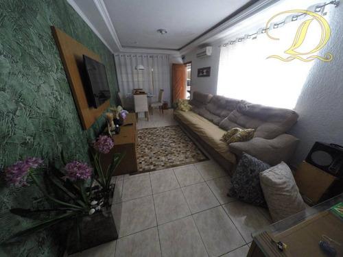 Imagem 1 de 23 de Casa À Venda Na Aviação Com 4 Vagas E 2 Dormitórios!!! - Ca0212