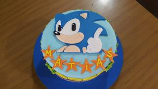 Tortas Infantiles Decoradas (sonic/peppa/fortnite)