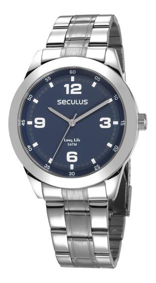 Relógio Seculus Masculino 28977gosvna1