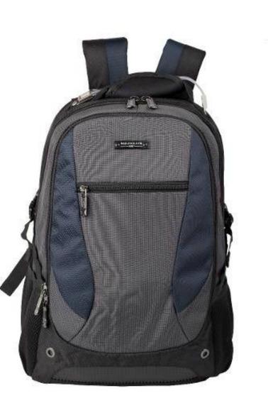 Mochila Escolar Reforzada Porta Notebook Hombre Quaglia Q303