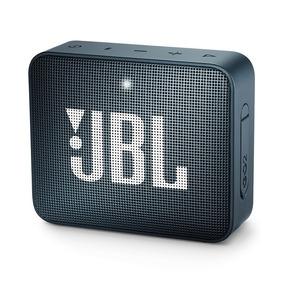 Caixa De Som Jbl Go 2 Azul Portátil 3w Original Bluetooth