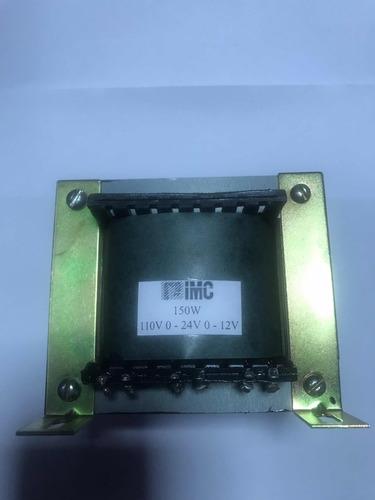 Imagem 1 de 8 de Kit 4 Transformadores Entrada 220v Saídas 0-12v 0 - 24v 110
