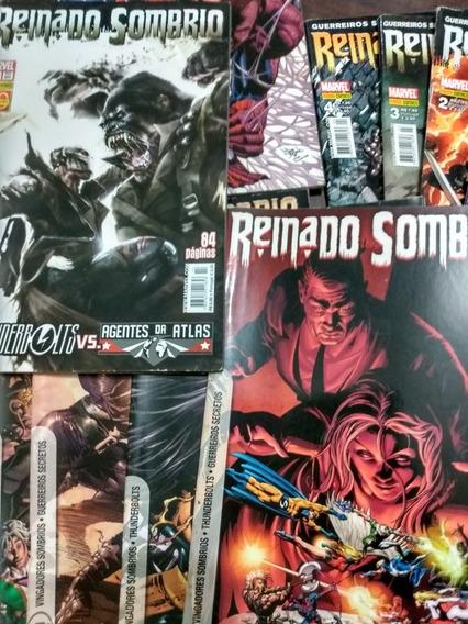 Hq Coleção Marvel Reinado Sombrio(1-14) + 3 Hqs