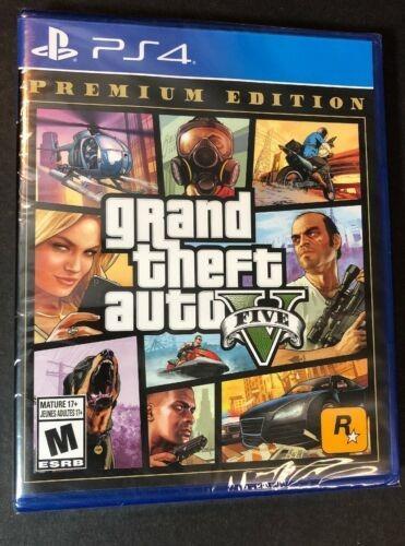Imagen 1 de 5 de Grand Theft Auto V / Gta V / Gta 5 [premium Edition] (ps4...