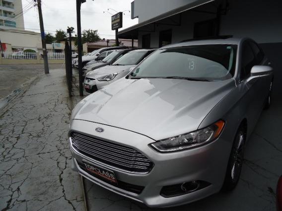 Ford Fusion Titanium 2.0 240cv Fwd Gtdi Top De Linha 2013