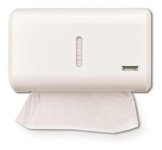 Porta Papel Toalha Compacto Dispenser Papeleira Branco
