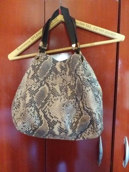 Prune Cartera Mod. Thai Cuero Texturado Impecable!