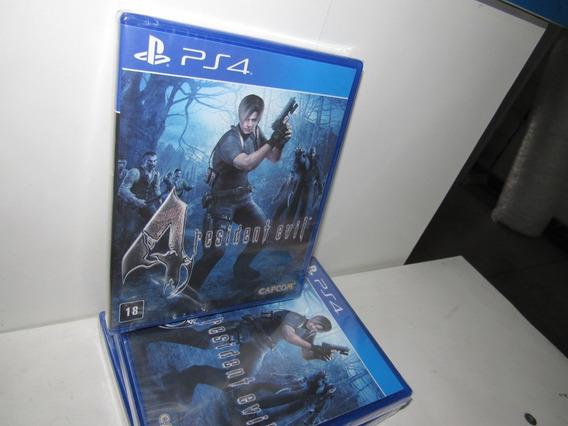 Resident Evil 4 Ps4 Mídia Física Novo Lacrado