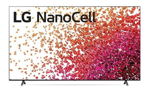 Imagem 1 de 10 de Smart Tv LG 50'' 4k Nanocell 50nano75 Thinq Ai 2021