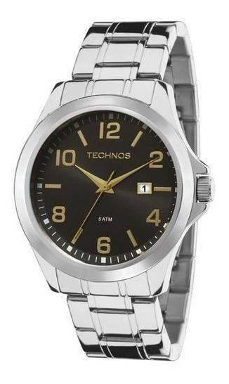 Relógio Masculino Technos Steel 2115mlk/1p
