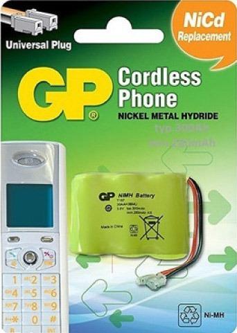 Batería Pila Teléfono Inalambrico 3.6v 300 Mah T157