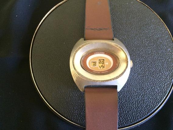 Relógio De Pulso Masculino Lucerne Swiss